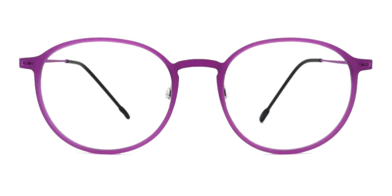 Yoga Purple Combination Eyeglasses , Lightweight , NosePads Frames from ABBE Glasses