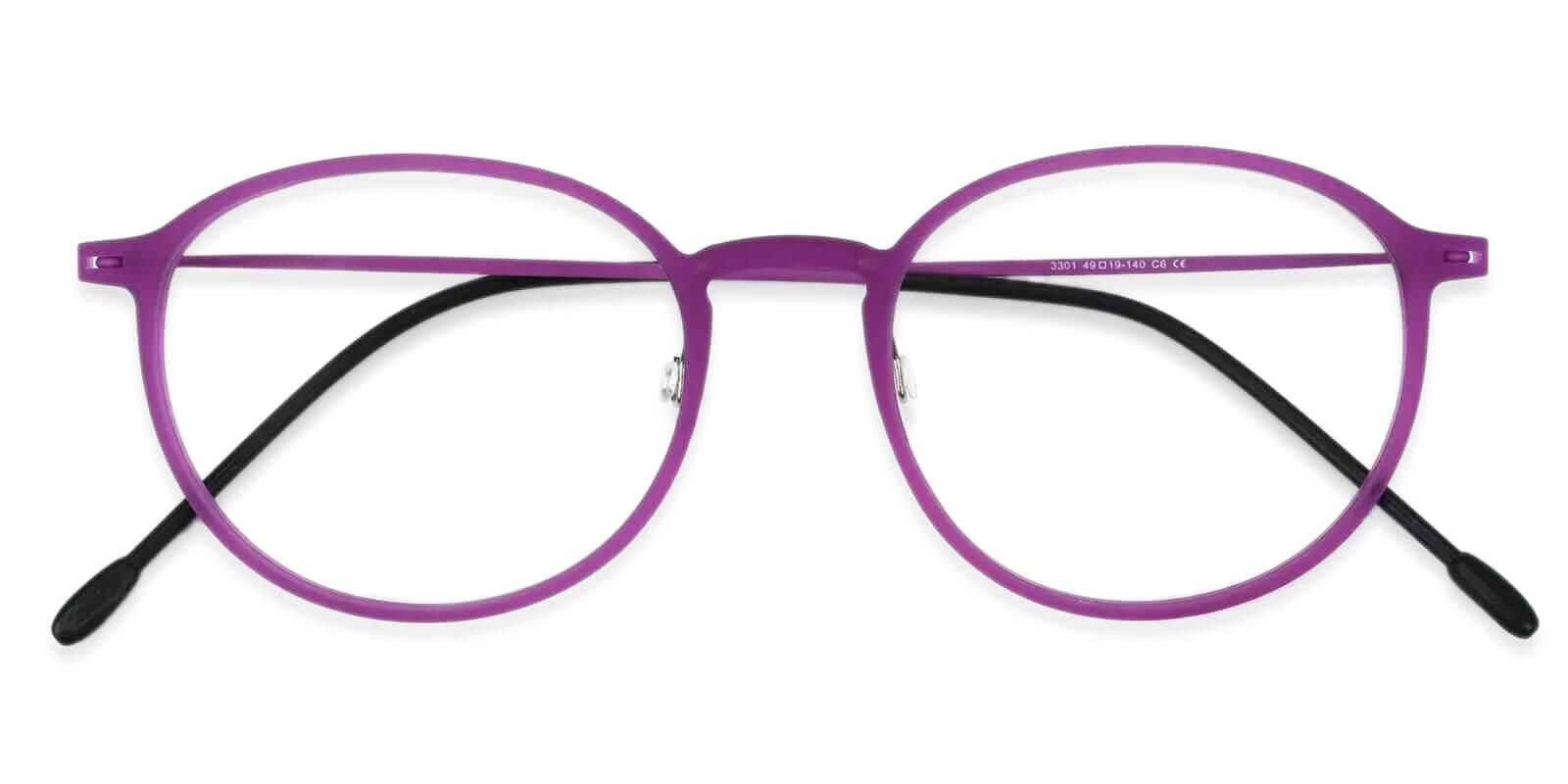 Yoga Purple Combination NosePads , Eyeglasses , Lightweight Frames from ABBE Glasses