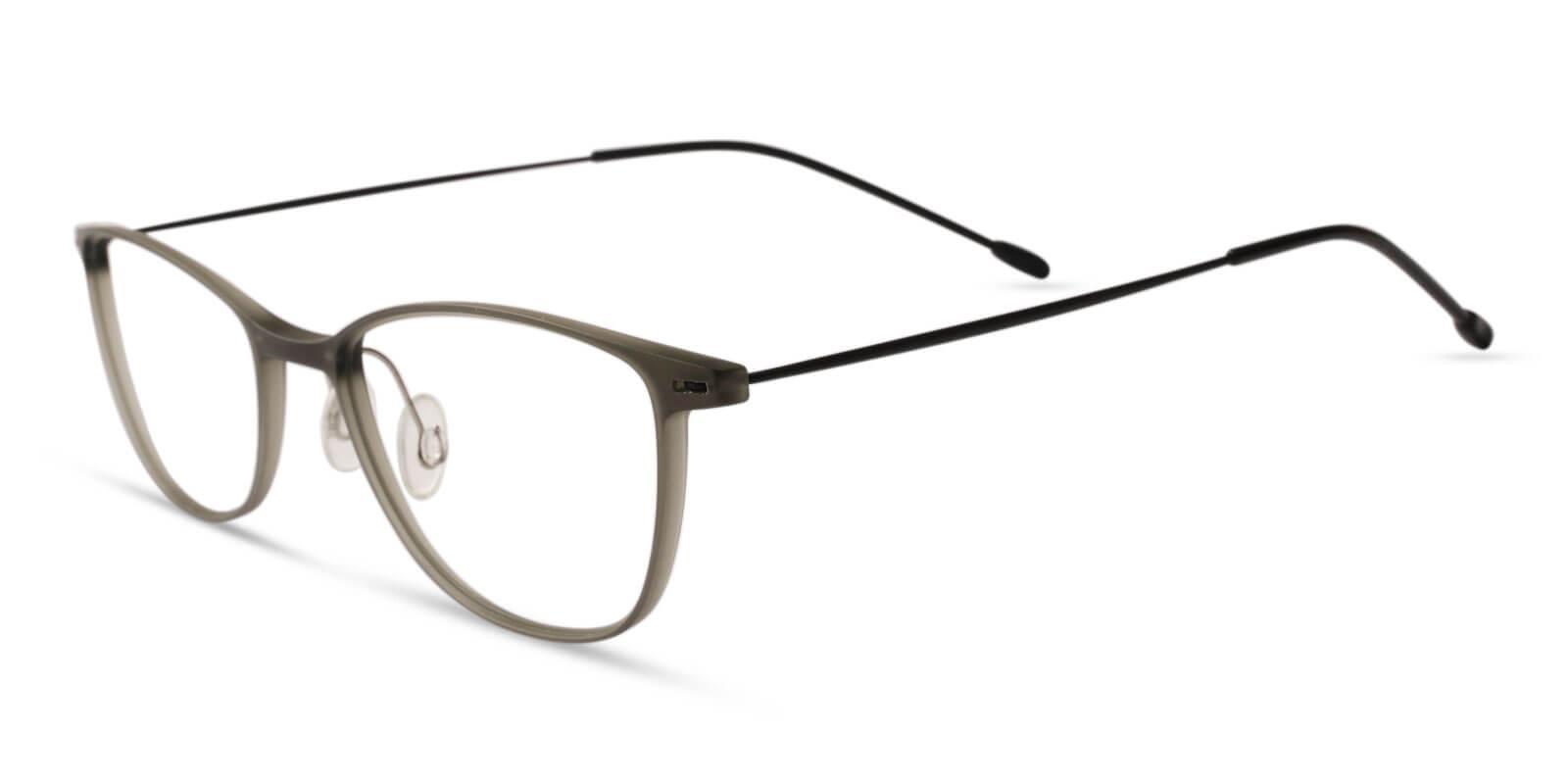 Pridgen Gray Combination NosePads , Eyeglasses , Lightweight Frames from ABBE Glasses