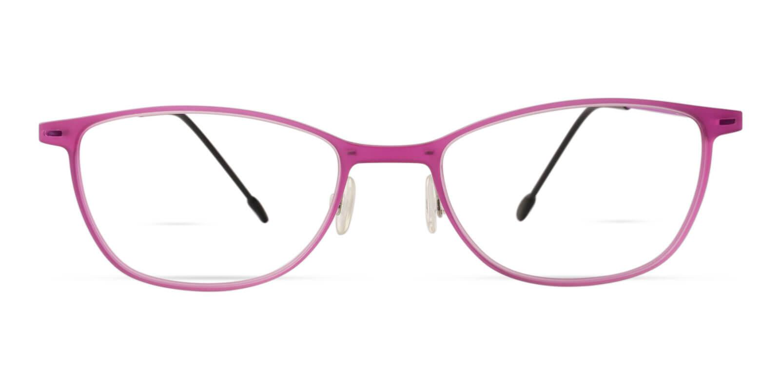 Nigeria Pink Combination Eyeglasses , Lightweight , NosePads Frames from ABBE Glasses