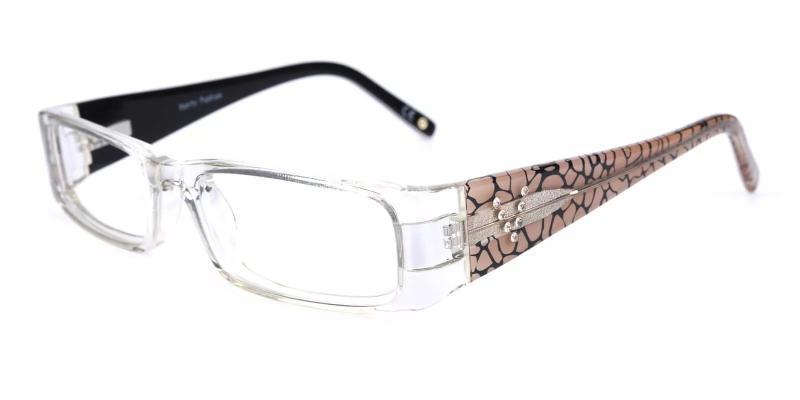 Translucent Violet - Acetate Eyeglasses , UniversalBridgeFit