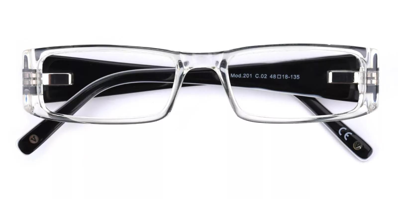 Violet Translucent Acetate Eyeglasses , UniversalBridgeFit Frames from ABBE Glasses