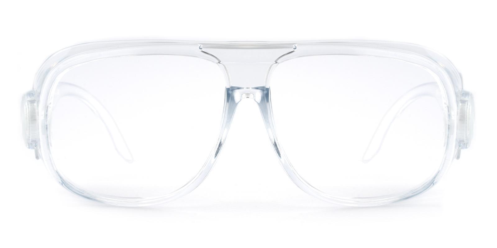 Natalie Translucent Plastic Eyeglasses , SportsGlasses , UniversalBridgeFit Frames from ABBE Glasses