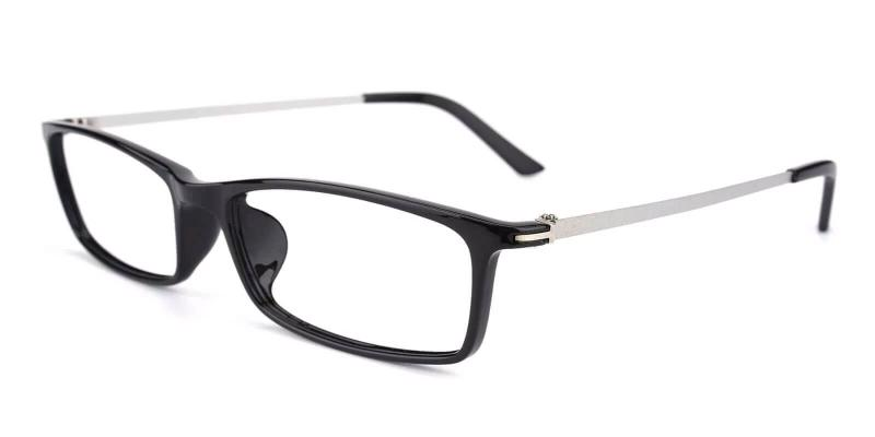 Black Quapaw - TR Eyeglasses , Lightweight , UniversalBridgeFit