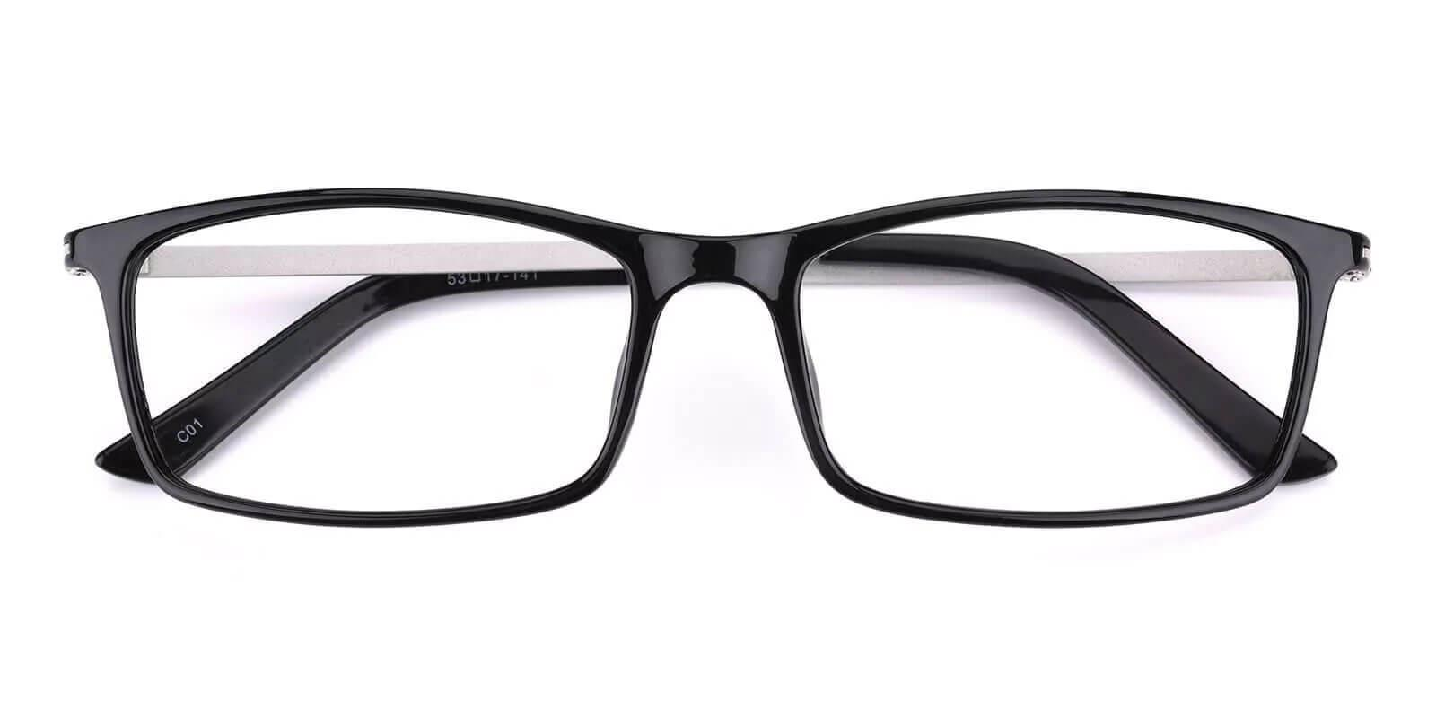 Quapaw Black TR Eyeglasses , Lightweight , UniversalBridgeFit Frames from ABBE Glasses