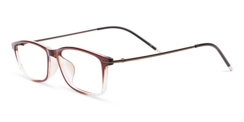 Brown Radcliffe - TR Lightweight , UniversalBridgeFit , Eyeglasses