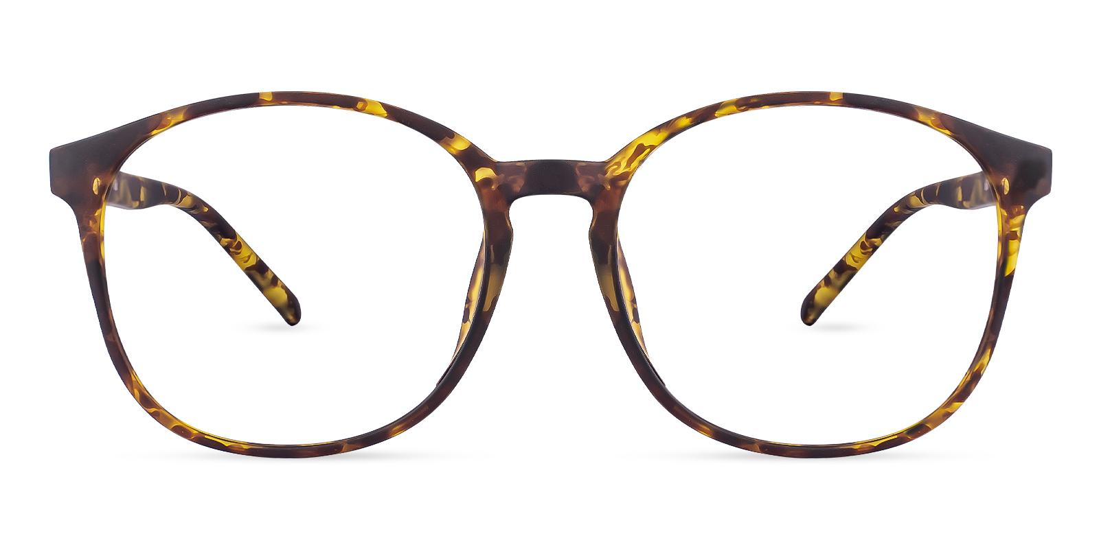 Dallas Tortoise TR Eyeglasses , Lightweight , UniversalBridgeFit Frames from ABBE Glasses