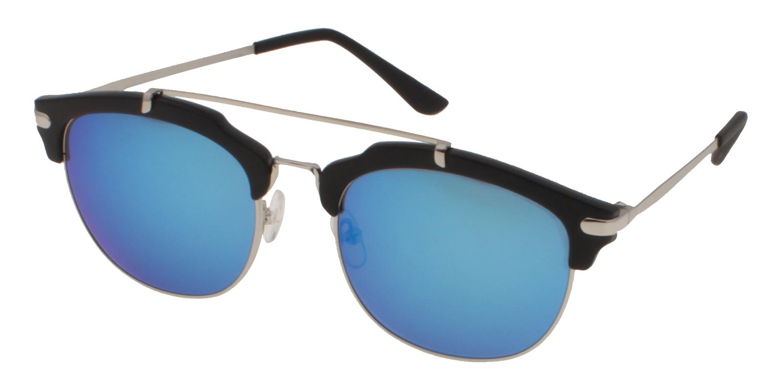 Cuba Black Acetate NosePads , Sunglasses Frames from ABBE Glasses