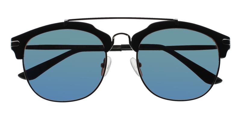 Black Cuba - Acetate NosePads , Sunglasses