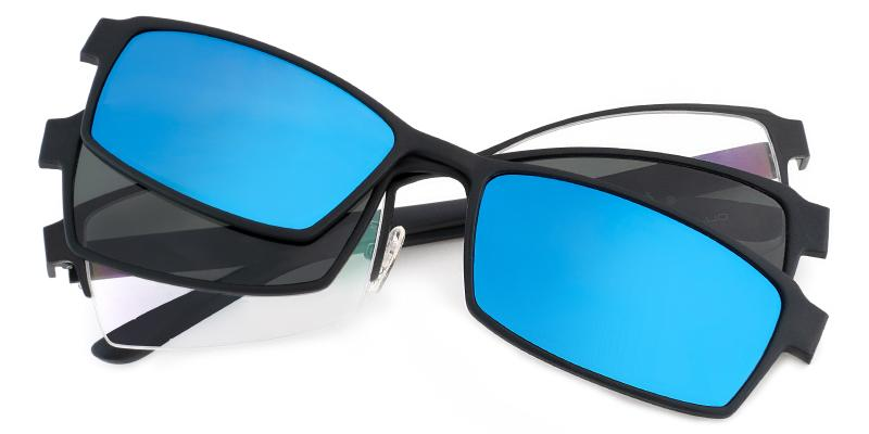 Black Afghanistan - TR Eyeglasses , NosePads , Sunglasses