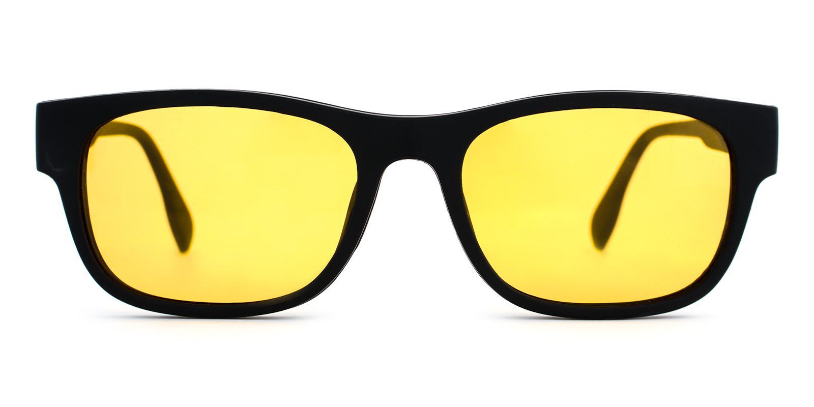 Aruba Black TR Eyeglasses , UniversalBridgeFit Frames from ABBE Glasses