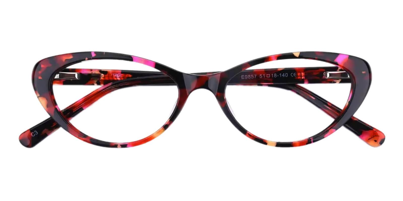 Elena Pattern Acetate Eyeglasses , UniversalBridgeFit Frames from ABBE Glasses