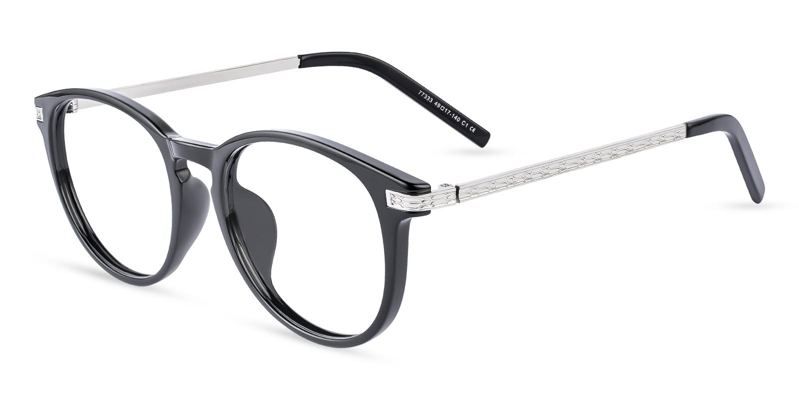Callie Black Combination UniversalBridgeFit , Eyeglasses Frames from ABBE Glasses