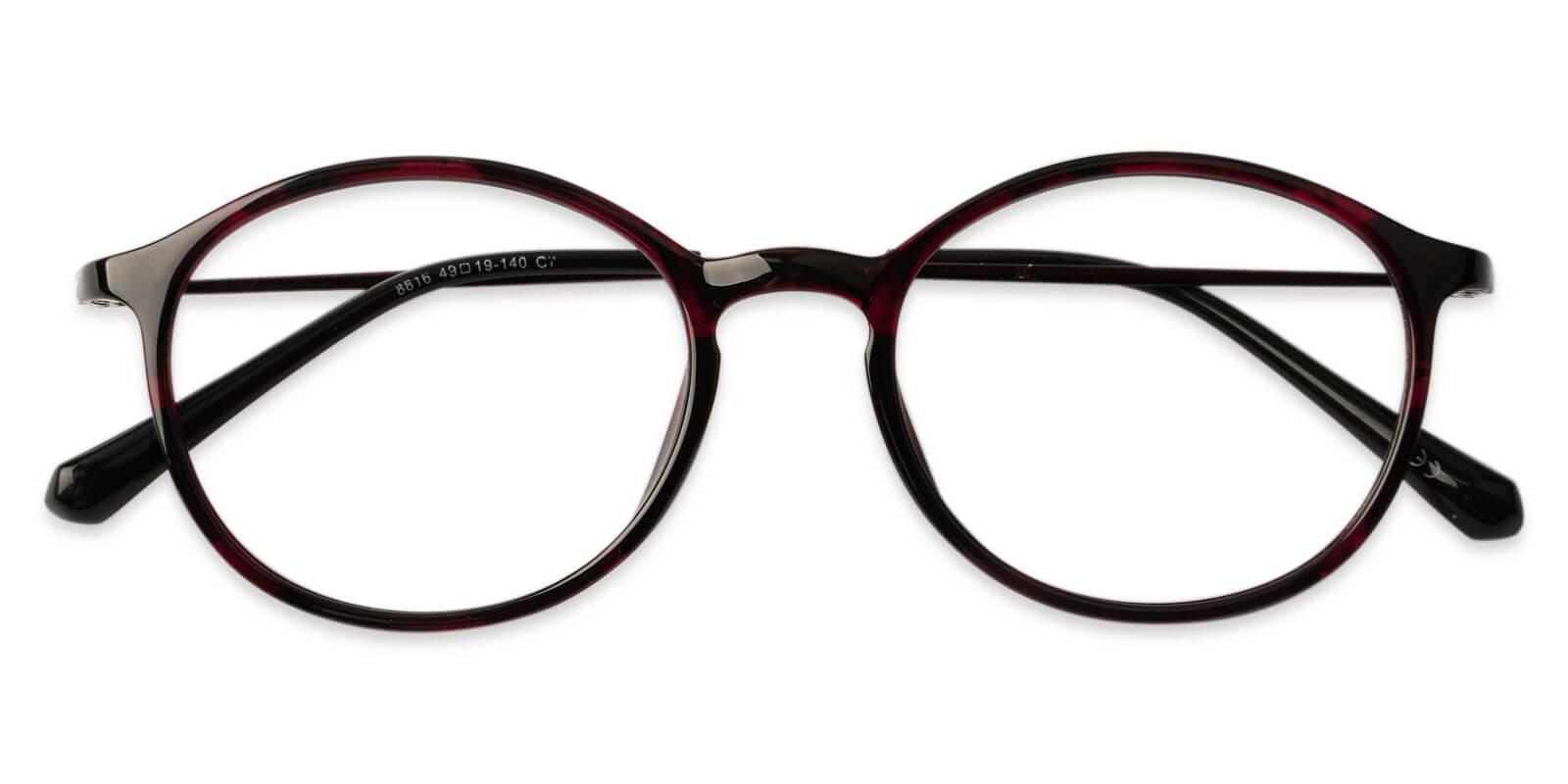 Adela Pattern Combination Eyeglasses , Lightweight , UniversalBridgeFit Frames from ABBE Glasses