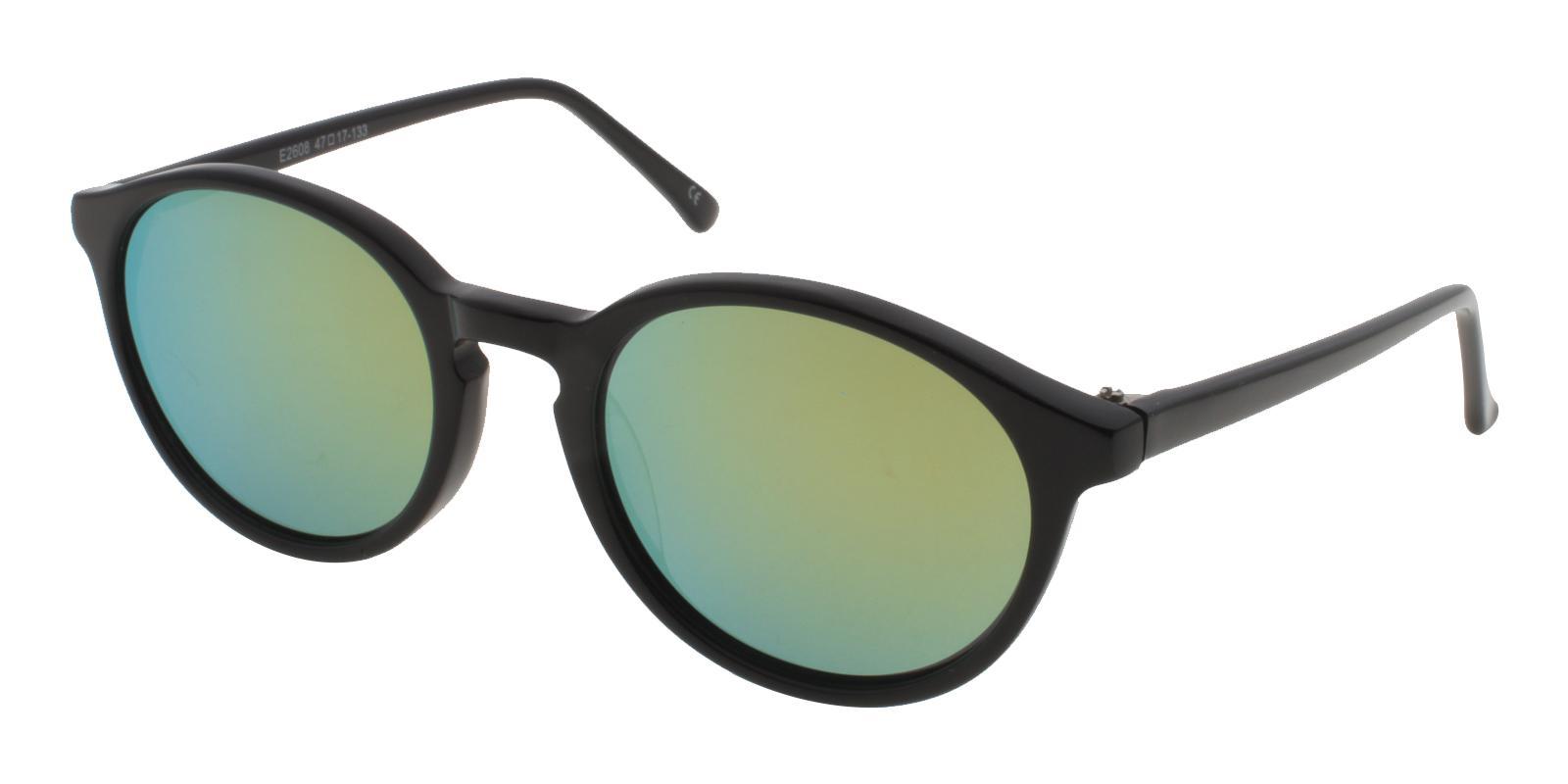 Kids-Gatzke Black Acetate Sunglasses , UniversalBridgeFit Frames from ABBE Glasses