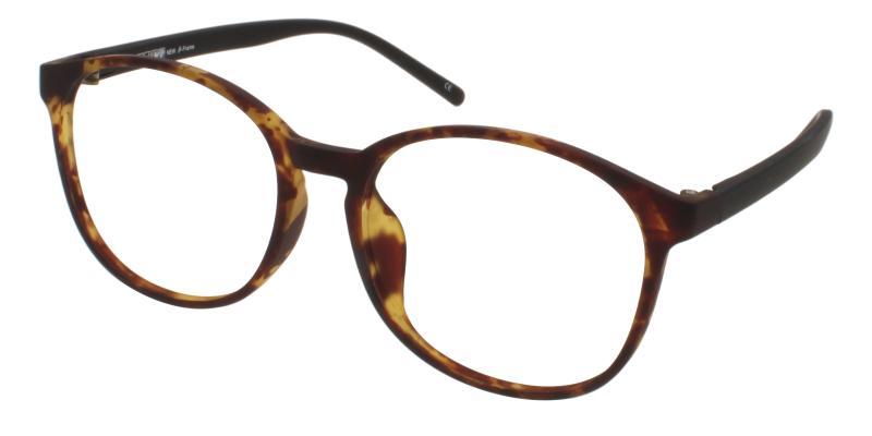 Tortoise Dominica - TR Lightweight , UniversalBridgeFit , Eyeglasses