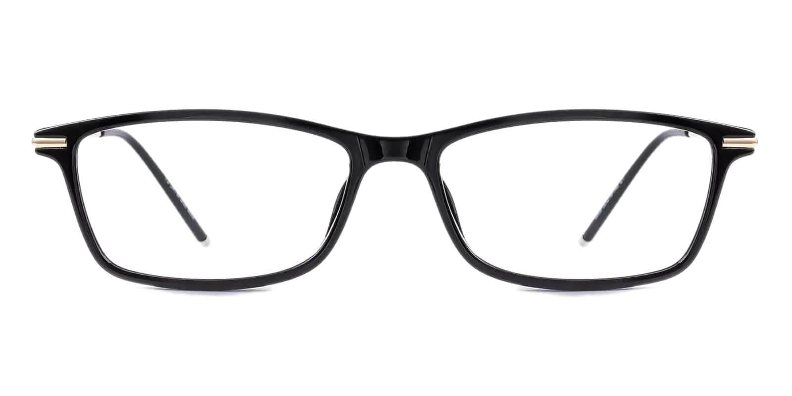 Maldives Black TR Lightweight , UniversalBridgeFit , Eyeglasses Frames from ABBE Glasses