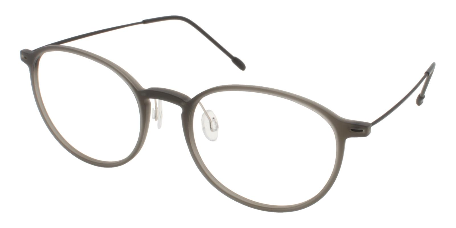 Gambia Gray Combination NosePads , Eyeglasses , Lightweight Frames from ABBE Glasses