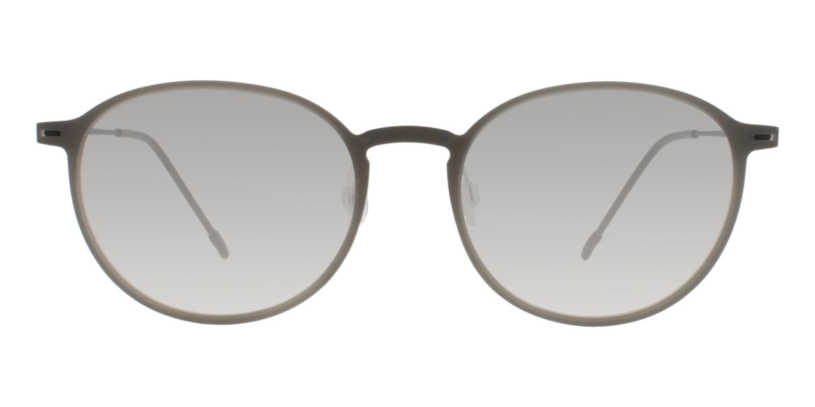 Gambia Gray Combination Eyeglasses , Lightweight , NosePads Frames from ABBE Glasses