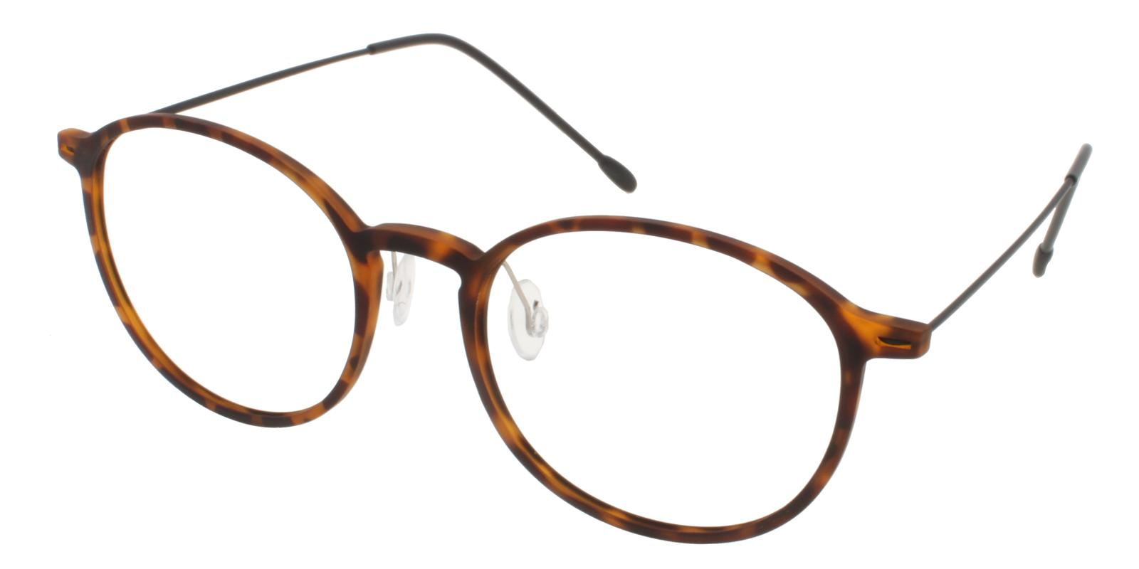 Gambia Tortoise Combination NosePads , Eyeglasses , Lightweight Frames from ABBE Glasses