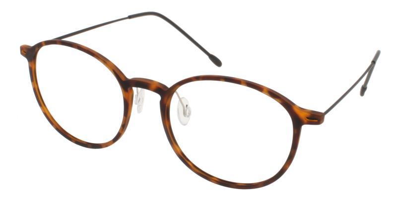 Tortoise Gambia - Combination NosePads , Eyeglasses , Lightweight