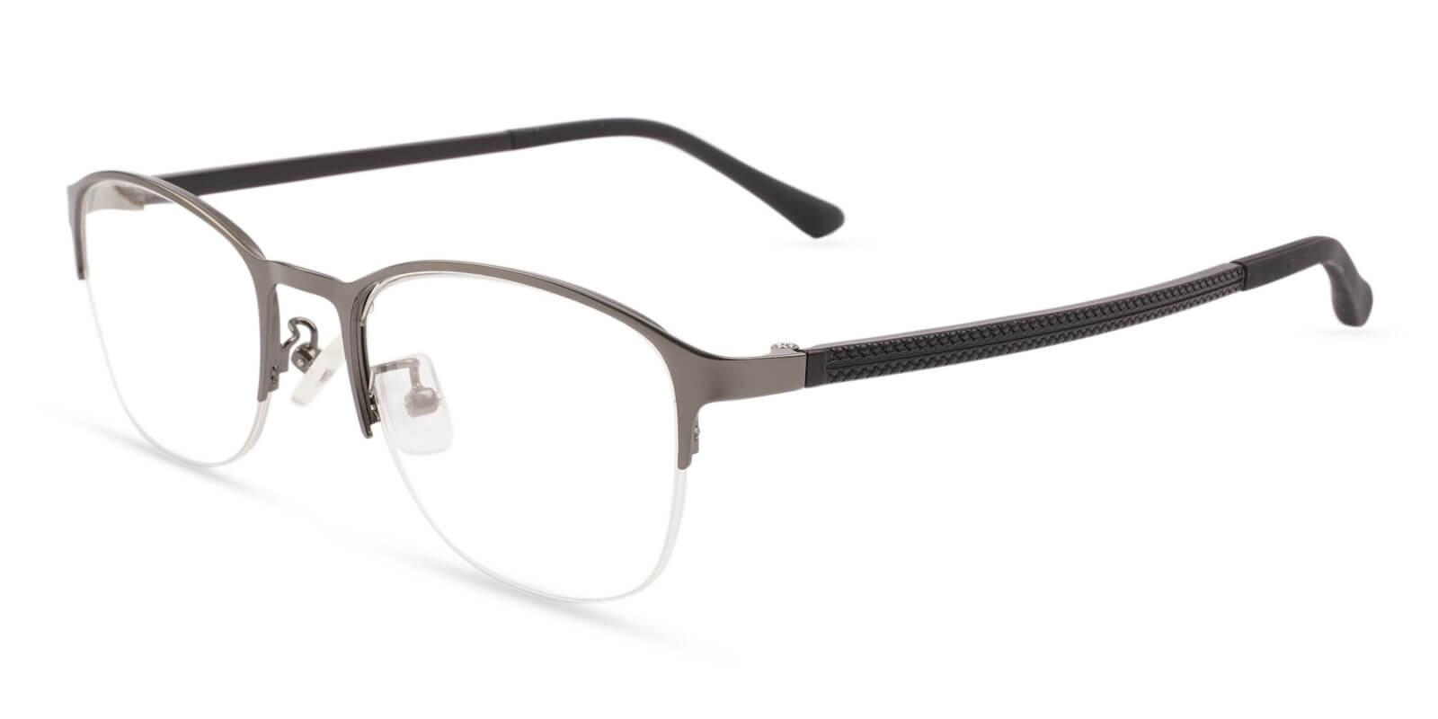 Bailey Brown Metal Eyeglasses , NosePads Frames from ABBE Glasses