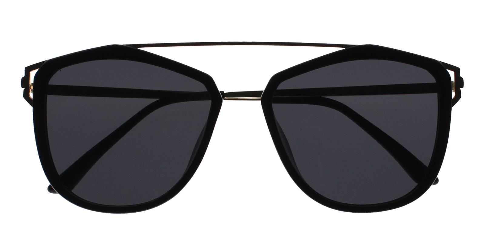 Lydia Black Metal , Combination , TR Sunglasses , UniversalBridgeFit Frames from ABBE Glasses