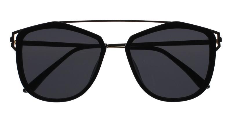 Black Lydia - Metal , Combination , TR UniversalBridgeFit , Sunglasses