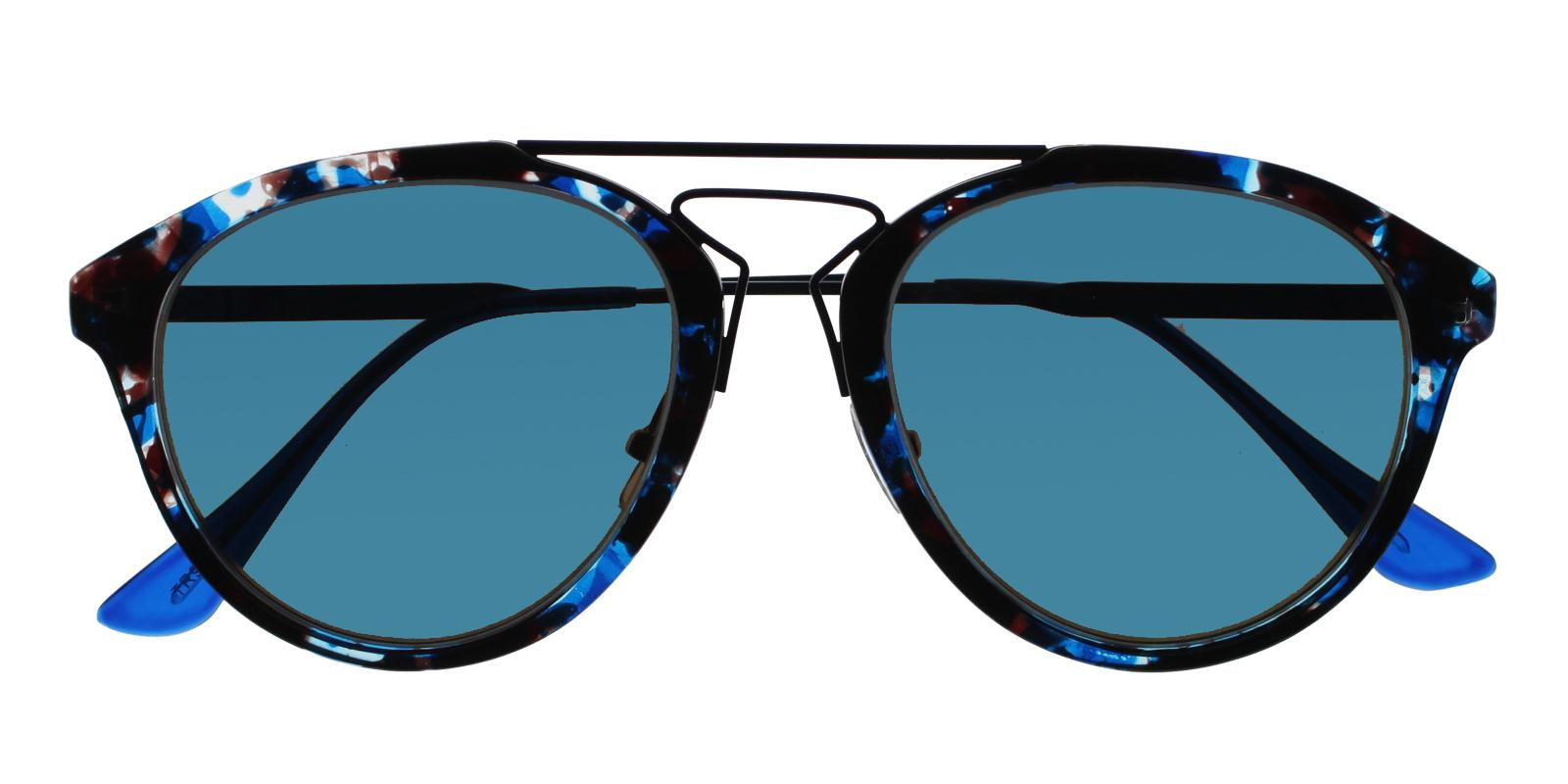 Madeline Blue Metal , Combination , TR NosePads , Sunglasses Frames from ABBE Glasses