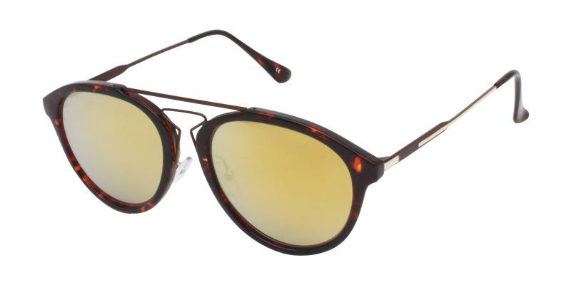 Tortoise Madeline - Metal , Combination , TR NosePads , Sunglasses