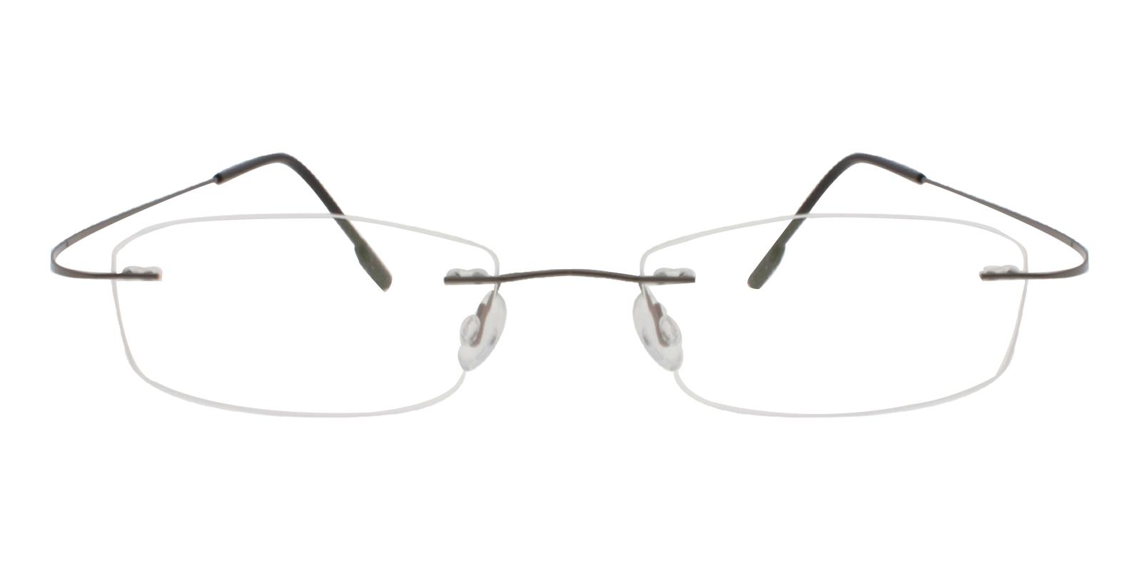 Isabel Gun Metal , Memory Eyeglasses , NosePads Frames from ABBE Glasses