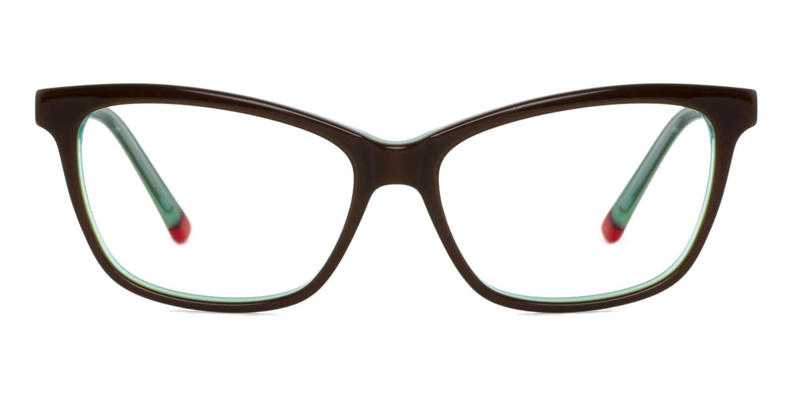Estonia Green Acetate SpringHinges , Eyeglasses , UniversalBridgeFit Frames from ABBE Glasses