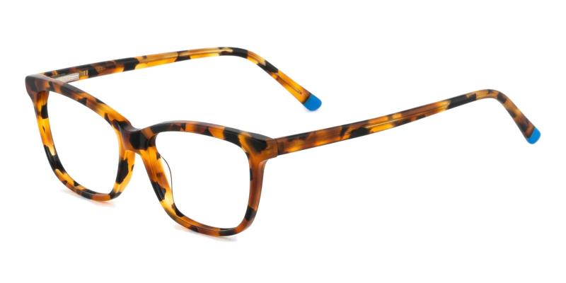 Leopard Estonia - Acetate ,Universal Bridge Fit