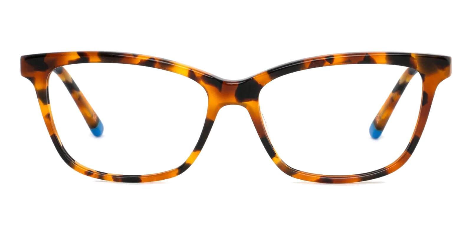 Estonia Leopard Acetate Eyeglasses , SpringHinges , UniversalBridgeFit Frames from ABBE Glasses