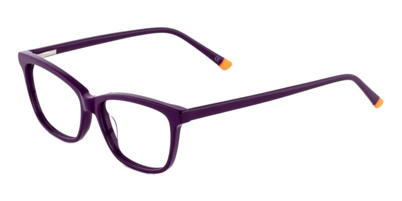 Purple Estonia - Acetate ,Universal Bridge Fit
