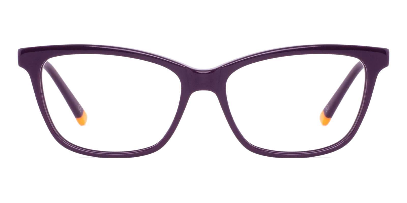 Estonia Purple Acetate Eyeglasses , SpringHinges , UniversalBridgeFit Frames from ABBE Glasses