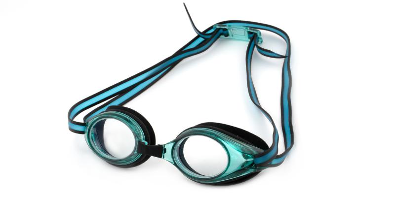 Green Lavender - Plastic Sports Glasses