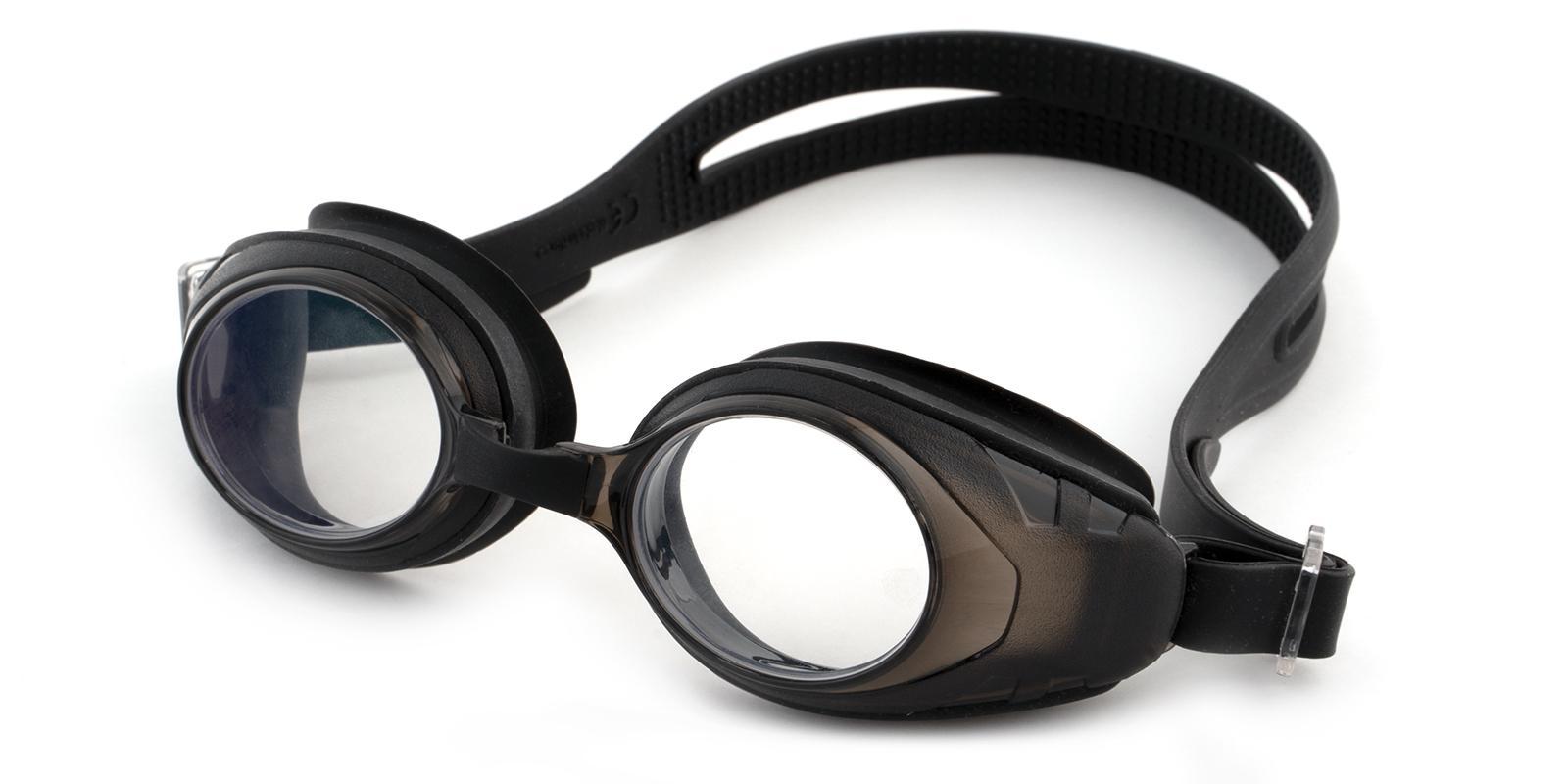 Agate Black Plastic SportsGlasses Frames from ABBE Glasses