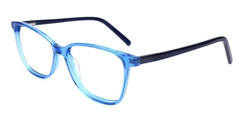Blue Belize - Acetate SpringHinges , UniversalBridgeFit , Eyeglasses