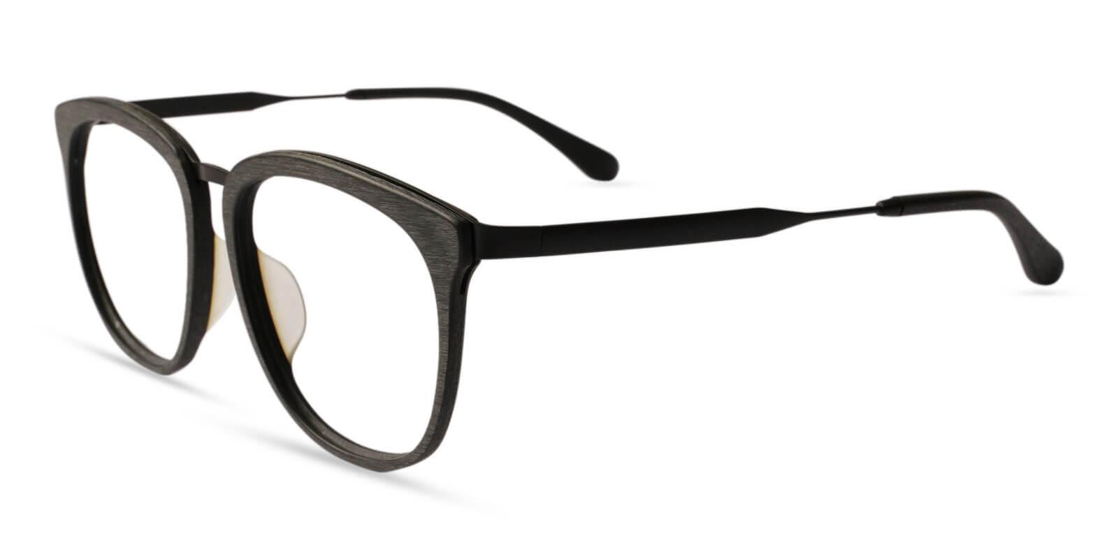 Burundi Striped Acetate , Metal Eyeglasses , UniversalBridgeFit Frames from ABBE Glasses