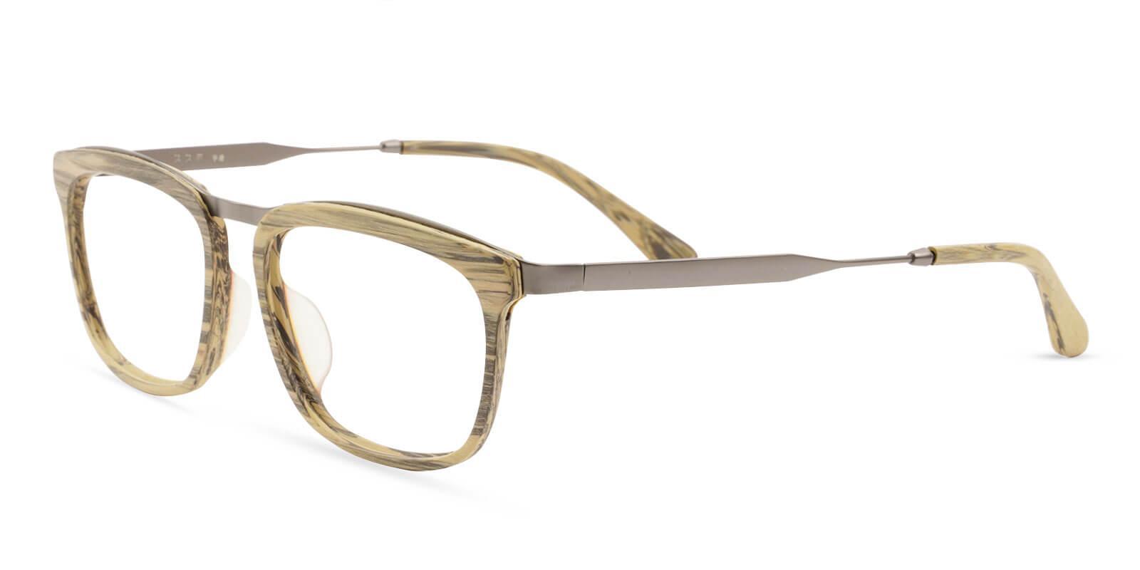 Audrey Brown Acetate , Metal Eyeglasses , UniversalBridgeFit Frames from ABBE Glasses