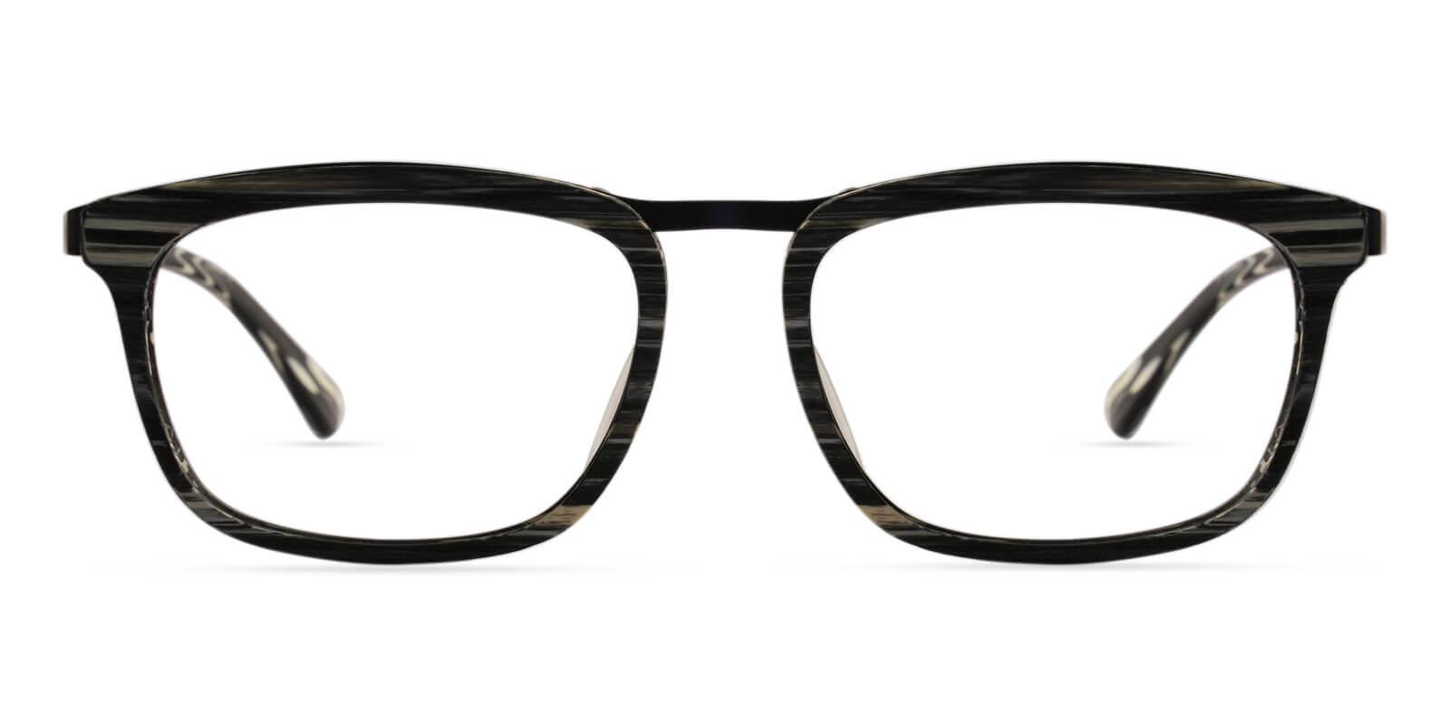Audrey Pattern Acetate , Metal Eyeglasses , UniversalBridgeFit Frames from ABBE Glasses