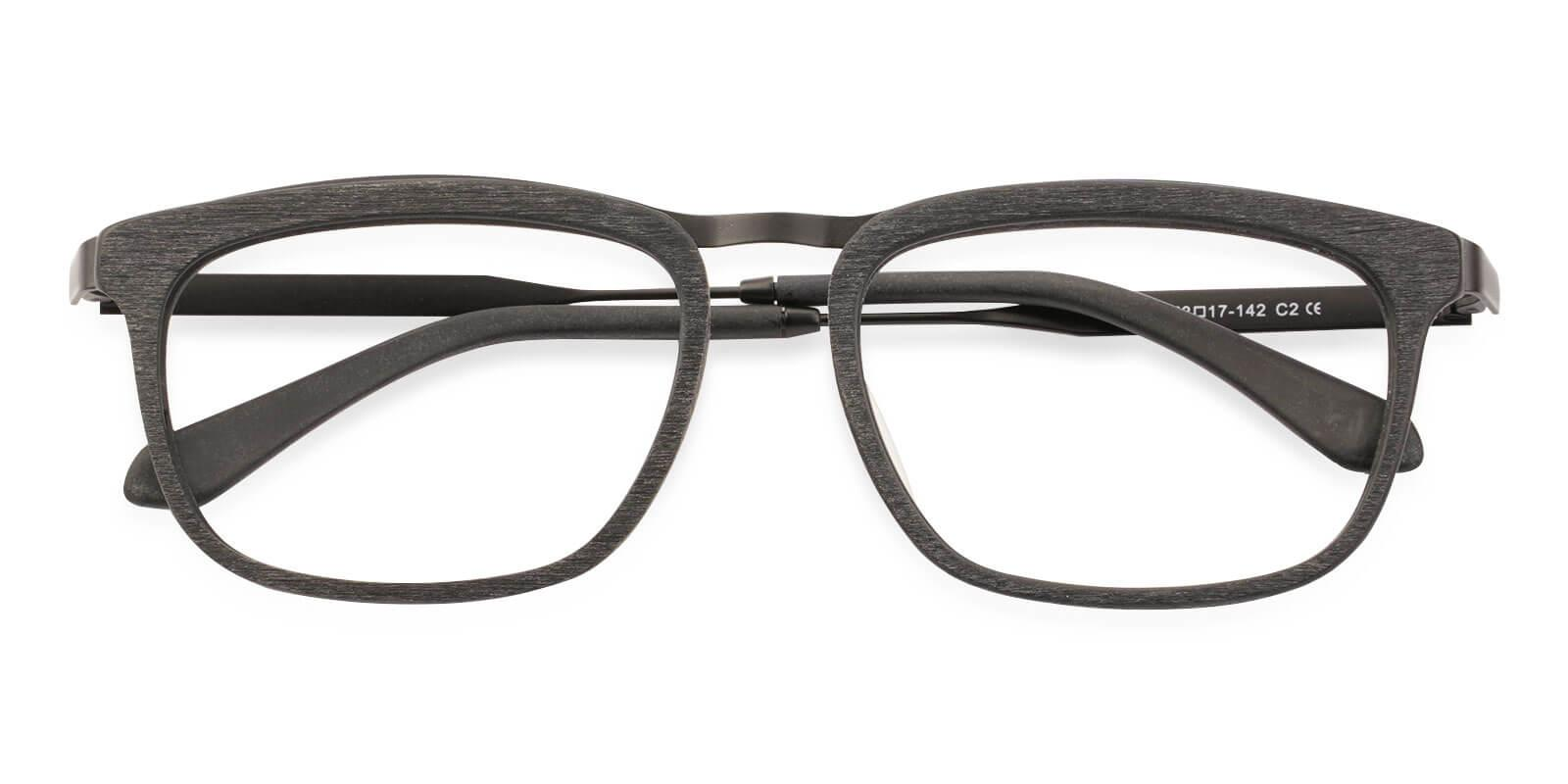 Audrey Striped Acetate , Metal Eyeglasses , UniversalBridgeFit Frames from ABBE Glasses