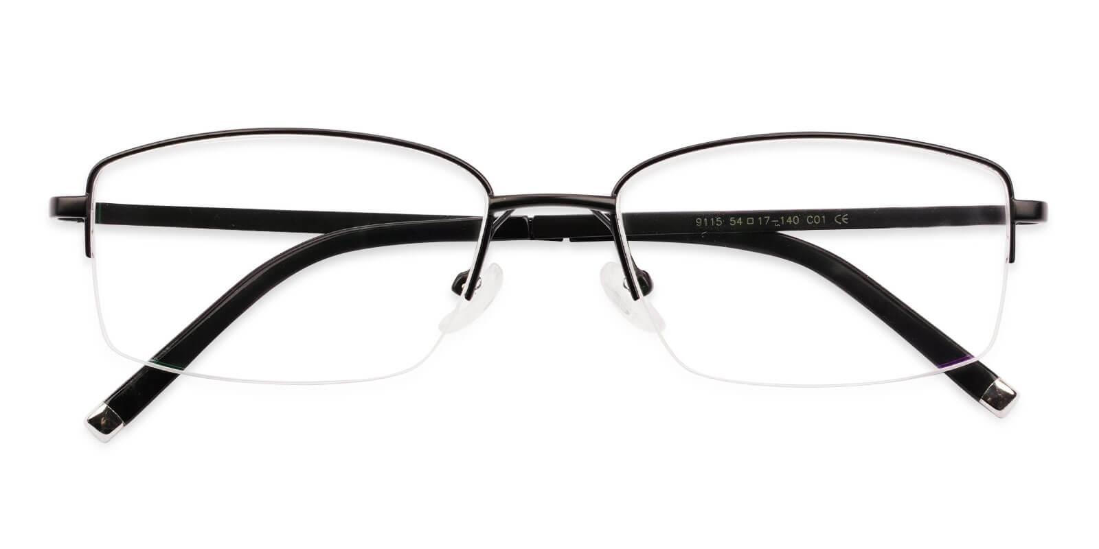 Niger Black Titanium NosePads , Eyeglasses Frames from ABBE Glasses