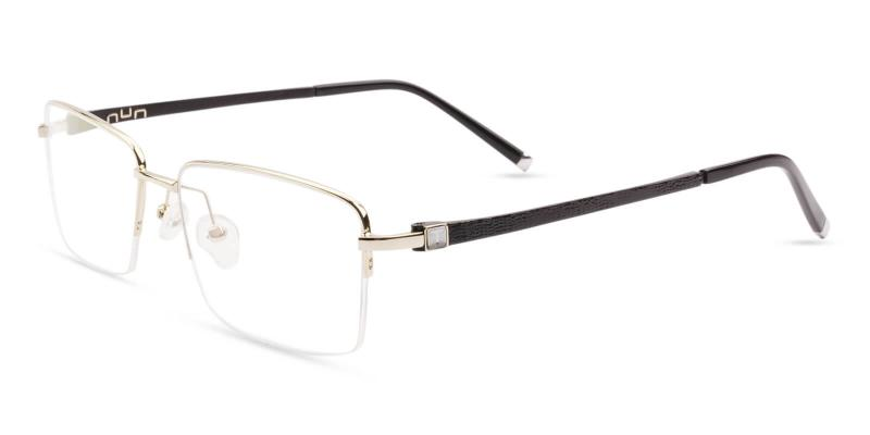 Gold Niger - Titanium NosePads , Eyeglasses