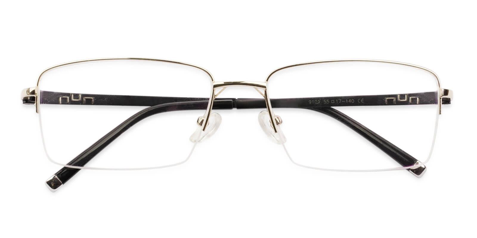 Niger Gold Titanium NosePads , Eyeglasses Frames from ABBE Glasses