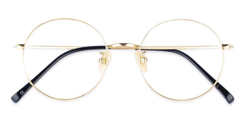 Zoe - Titanium Eyeglasses , NosePads , Lightweight