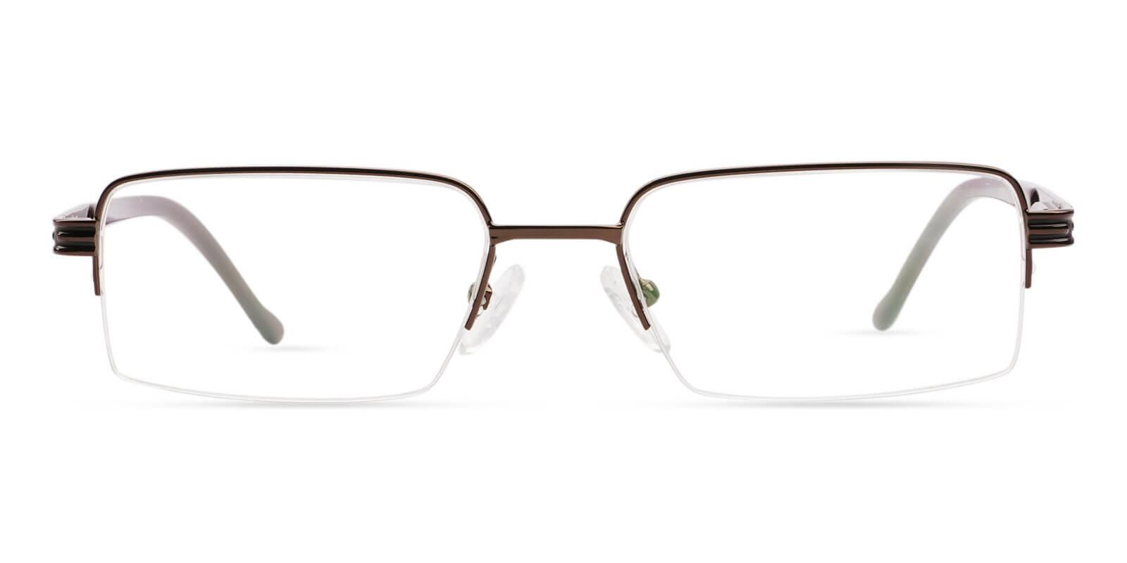 Nicaragua Brown Metal SpringHinges , NosePads , Eyeglasses Frames from ABBE Glasses
