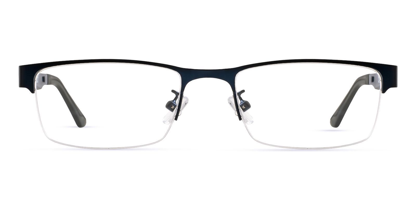 Poland Blue Metal , TR NosePads , Eyeglasses Frames from ABBE Glasses