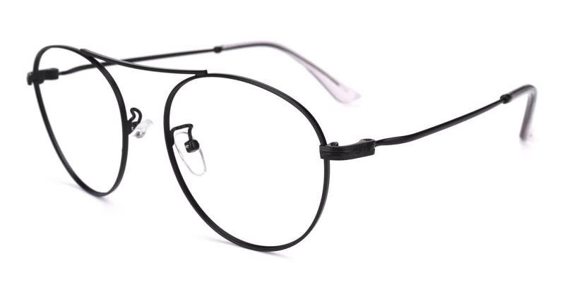 Black Chloe - Metal NosePads , Eyeglasses